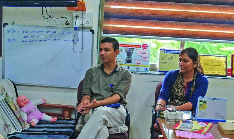 Dr Prajapati and Dr Rama
