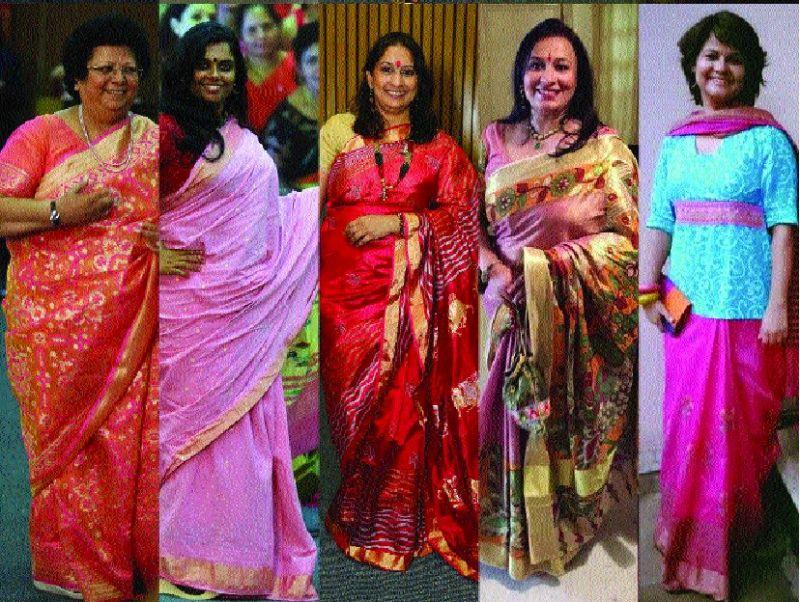 Author Sunita Buddhiraja, entrepreneur Vinutha Subramaniam, artist Manisha Gawade, educationist Anupama Chand, educationist Seema Kaushik.