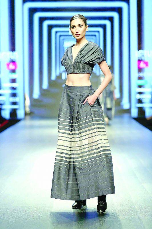 An outfit by designer Amita Gupta