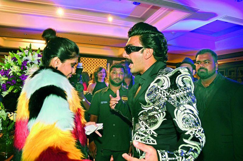 Siri with Ranvir Singh