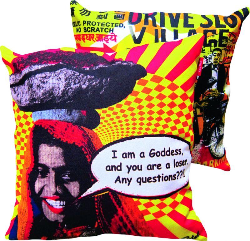 I am a Goddess cushions