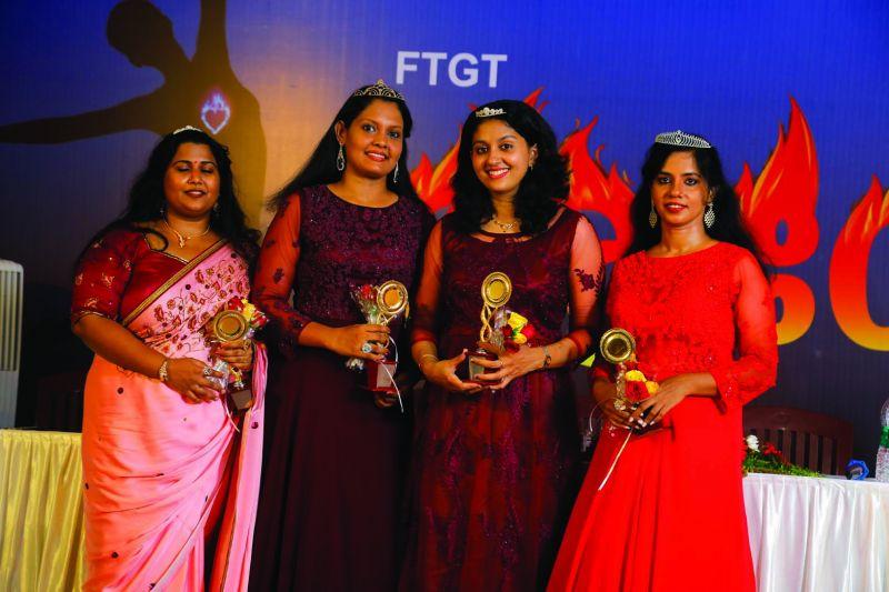 Beauty queens at Agneya event