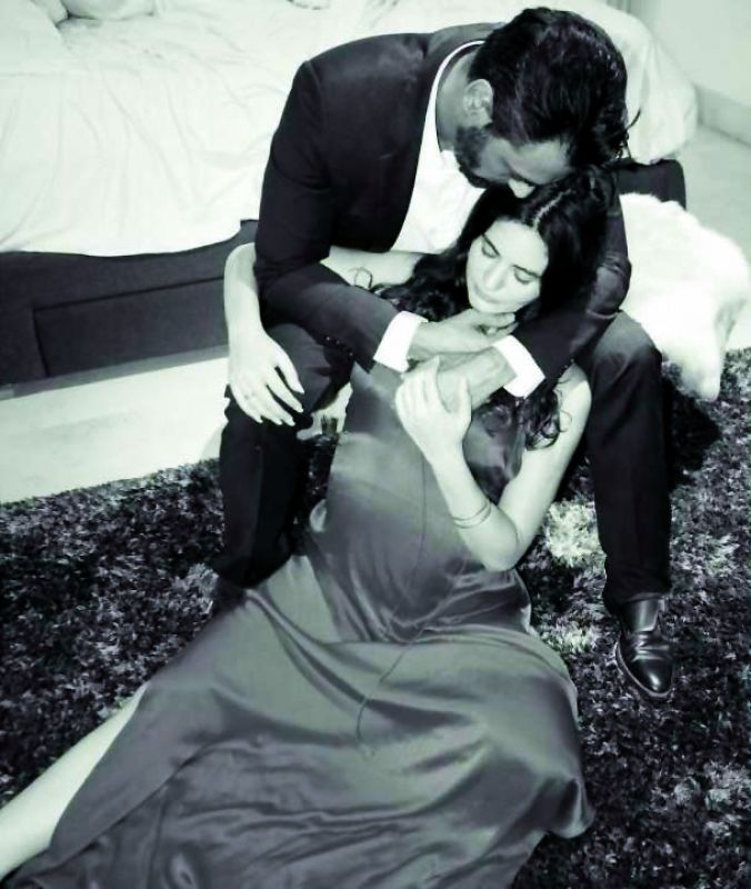 Arjun had broken the news of Gabriella's pregnancy on social media by sharing a picture of her.
