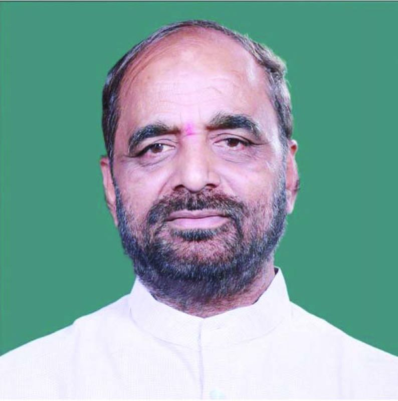 Members of parliament Hansraj Ahir
