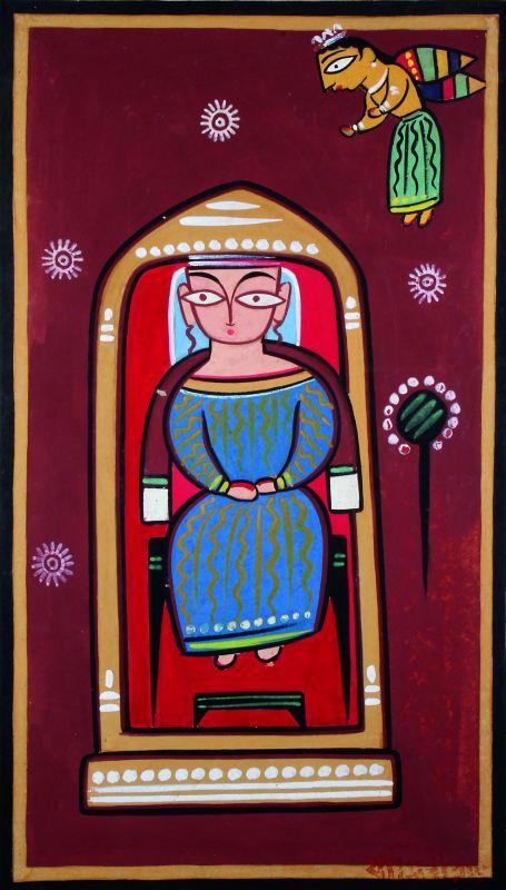 The work of Jamini Roy
