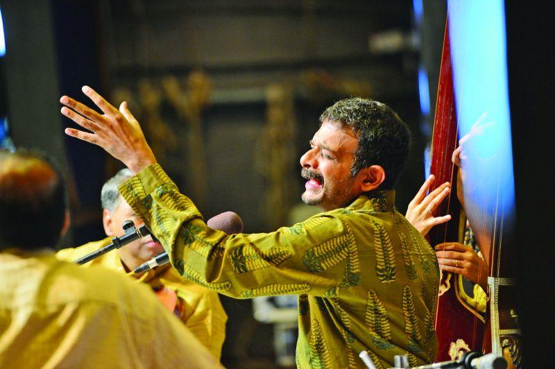 Carnatic music vocalist TM Krishna