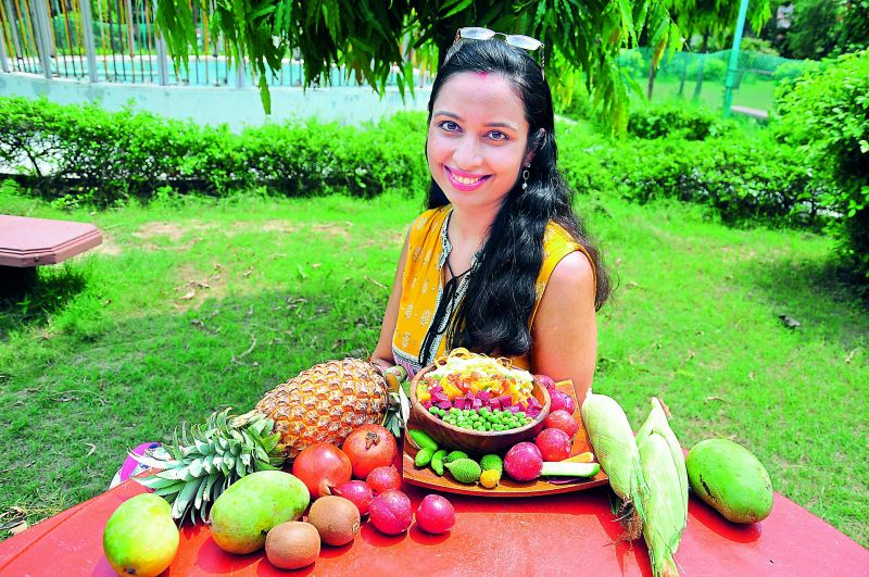 Anjali Sanghi, author, artist, speaker and founder trustee of the Indian Raw Vegan Foundation.
