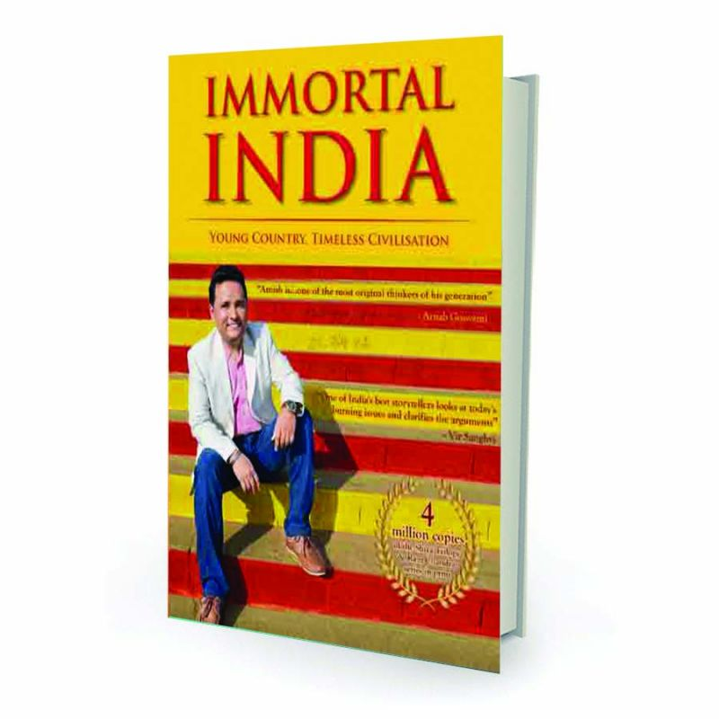 Immortal India  — young country, timeless civilisation by Amish Westland,  pp.216, Rs 138.