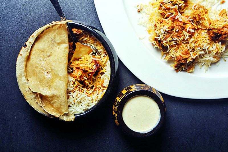 Try an aromatic spicy biryani complete with cold raita to go along with a spicy and fruity whisky, suggests Nikhil