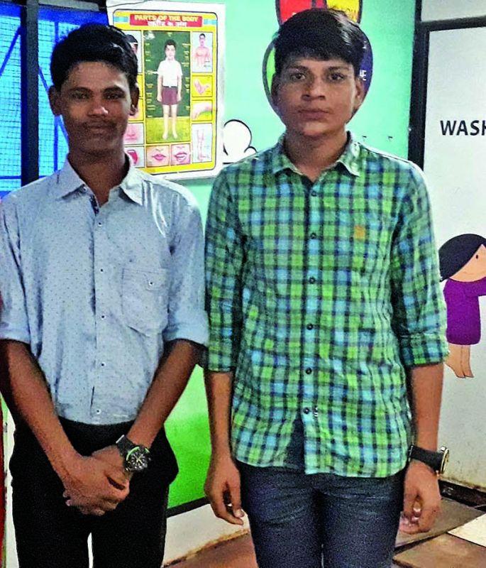 Achievers Mohan Kale (L) and Dashrath Pawar (R)