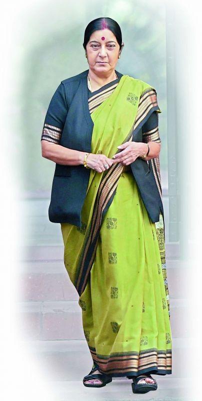 Sushma Swaraj, Minister of External Affairs of India