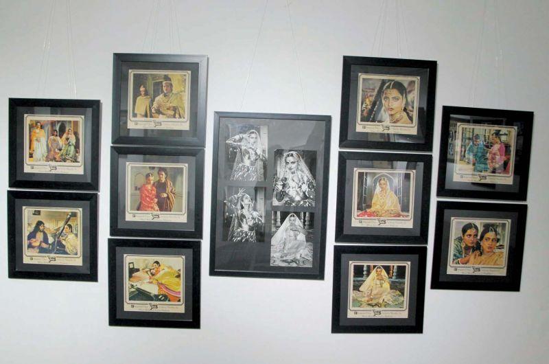 Lobby cards of Umrao Jaan ( Photo: Mrugesh Bandiwadekar)