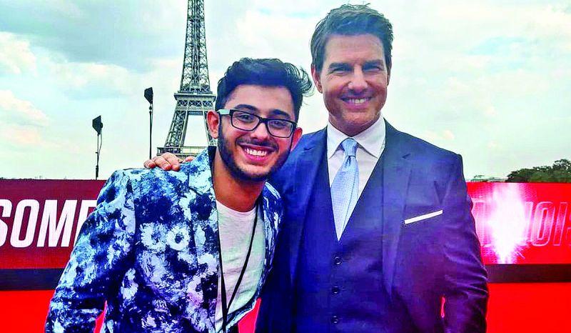 Ajey Nagar and Tom Cruise