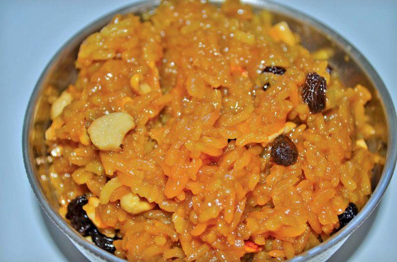 Saffron Pongal