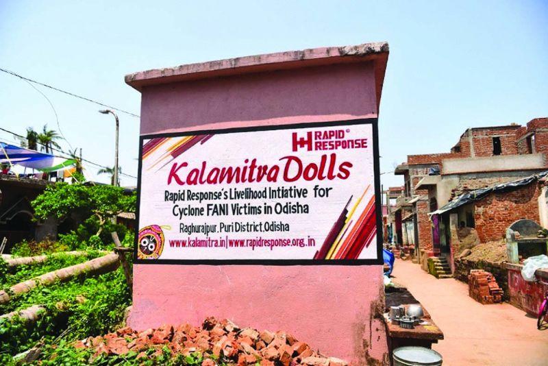 Rapid Response's livelihood initiative Kalamitra
