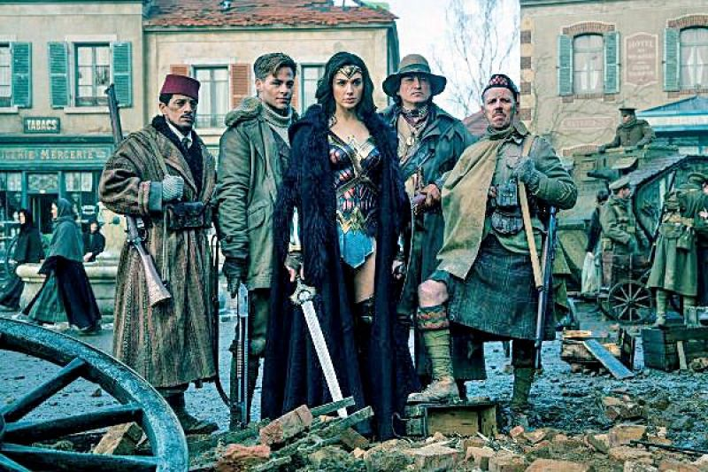 Wonder Woman gave a nod to Indian soldiers who were part of World War I.