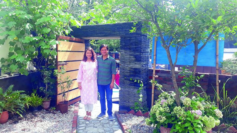 Sonali Saxena and Shushant Sharma at their restaurant indique in Dharmsala; (right) Renuka Arora says a move to Mohali from Gurugram turned out to be a fantastic business decision