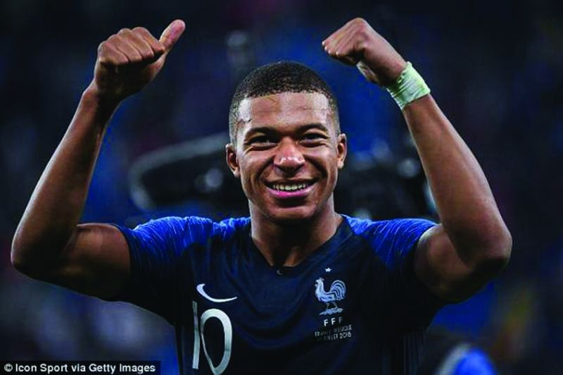 Kylian Mbappé has been donating all the money to children's charities.