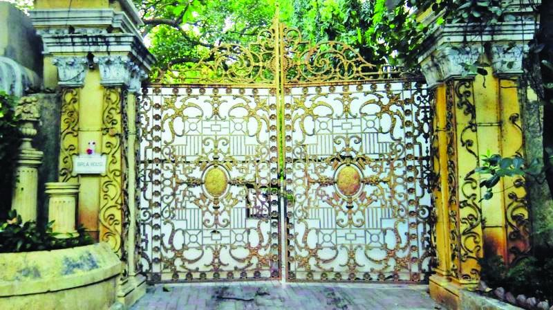 The gates of Birla House
