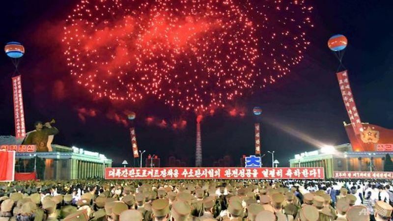 North Korea celebrations