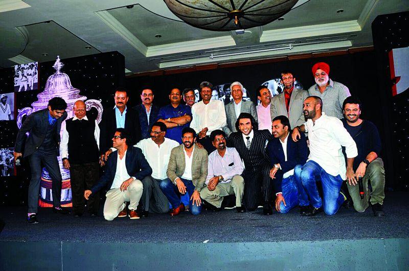 The 1983 cricket team  (Photo: Viral Bhayani)