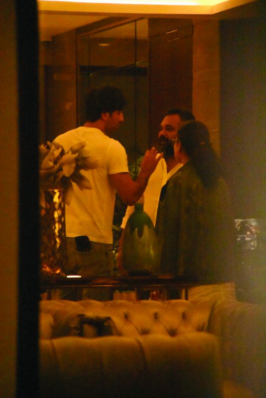 Ranbir and Deepika were spotted meeting Luv