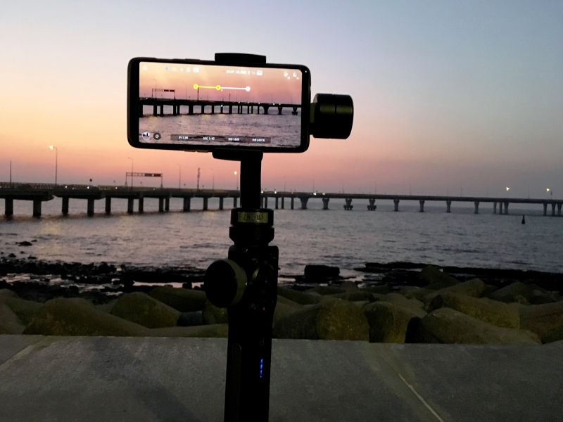 Use gimbal for shots like motion lapse and cinematic pans. (Photo: File)