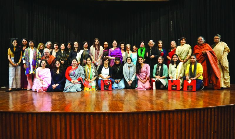 The IAWRT India team and female directors.