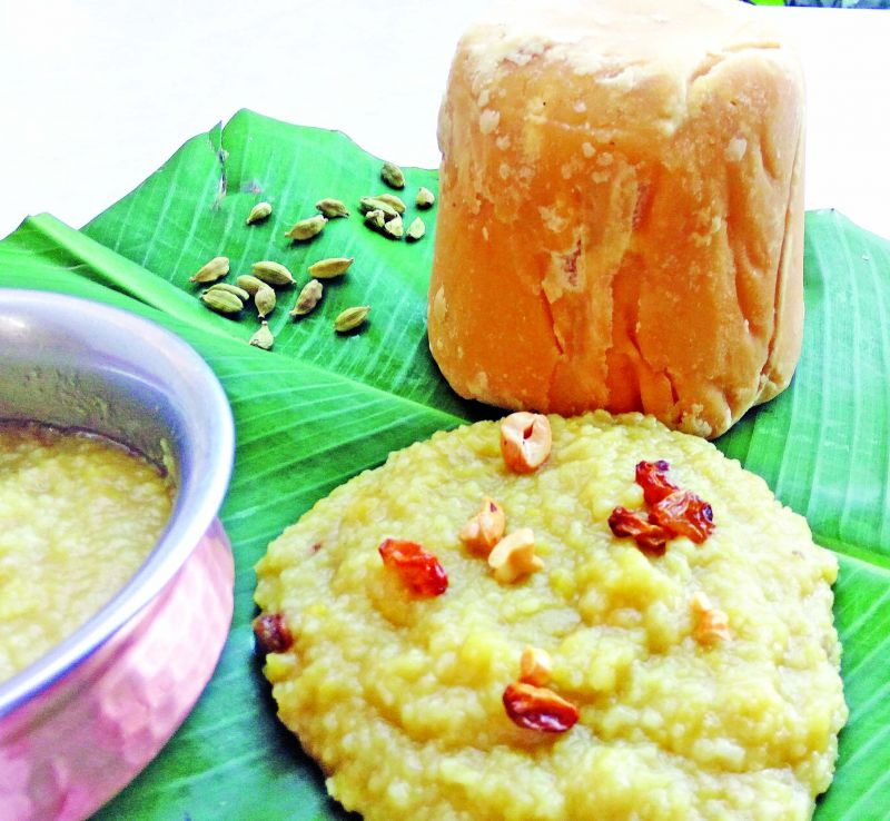Sweet Pongal 1