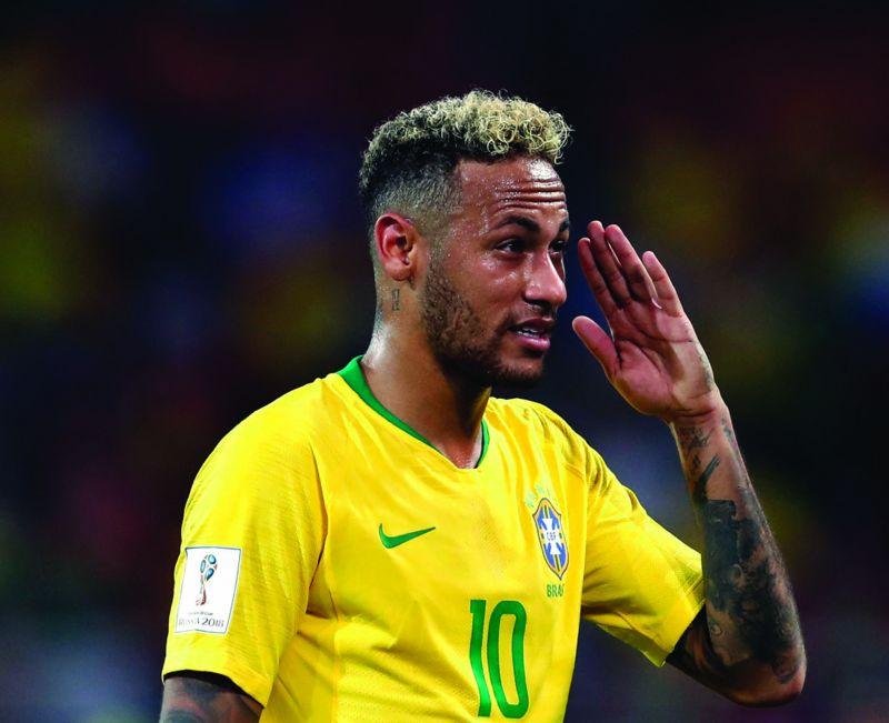 Popular hairstyle of Neymar