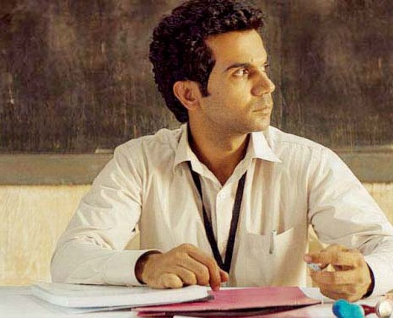 Rajkumar Rao busted a number of small-town stereotypes in Newton.