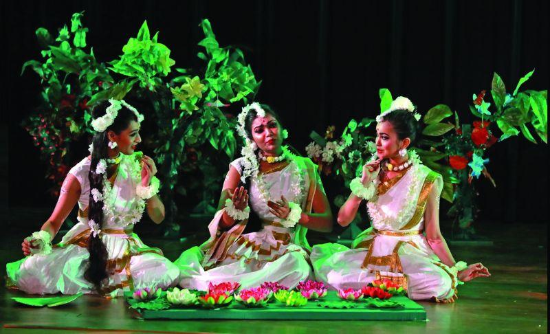 Scene from Abhijnanasakuntalam