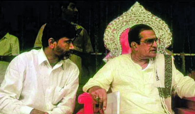 Allegedly Chandrababu Naidu betrayed his father-in-law N.T. Rama Rao.