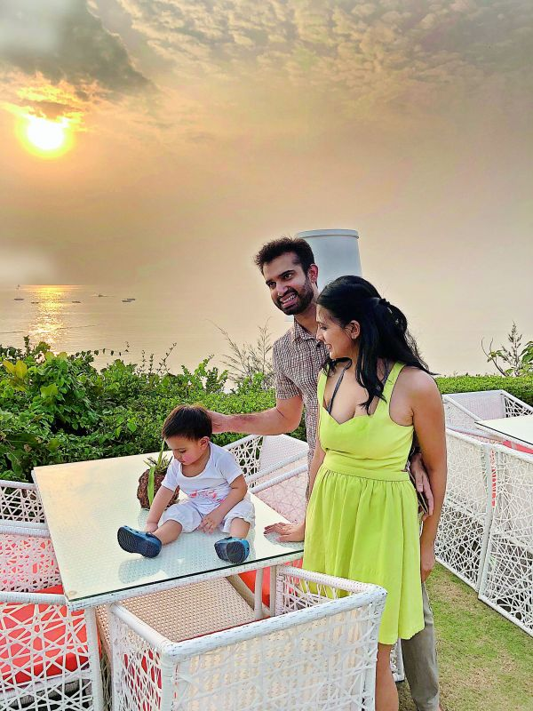 Miniya Chatterji, CEO of Sustain Labs, and her husband Chirag Lilaramani, CEO of Liquid Sanctuary, decided to leave their posh bungalow on Aurangzeb Road, and moved to a villa by the fields in Saligao, Goa, to protect their newborn from Delhi's pollution.