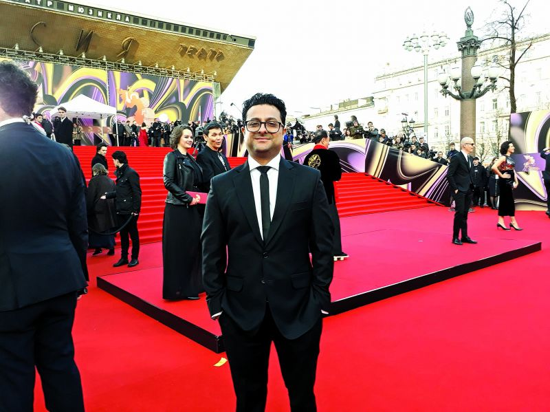 Tariq at Moscow International Film Festival