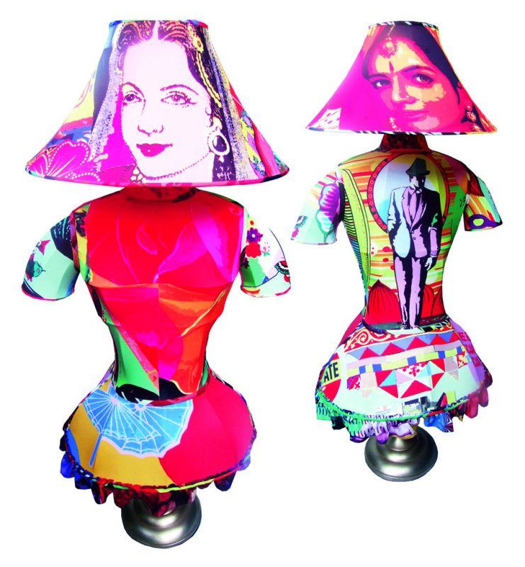 Indochine lady lamp shades