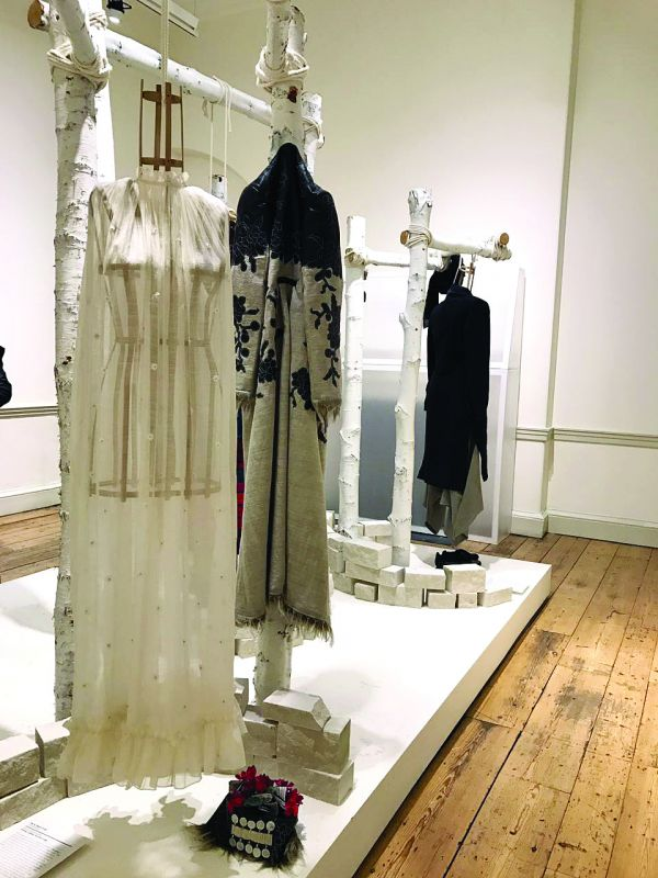 A few  creations from the team of five designers on  display at the London Fashion Week