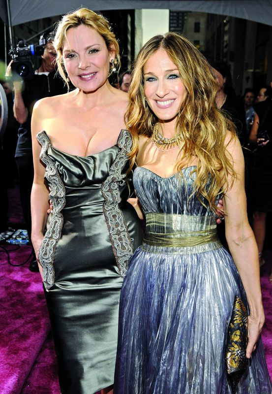 Kim Cattrall and Sarah Jessica Parker (Photo: FP)