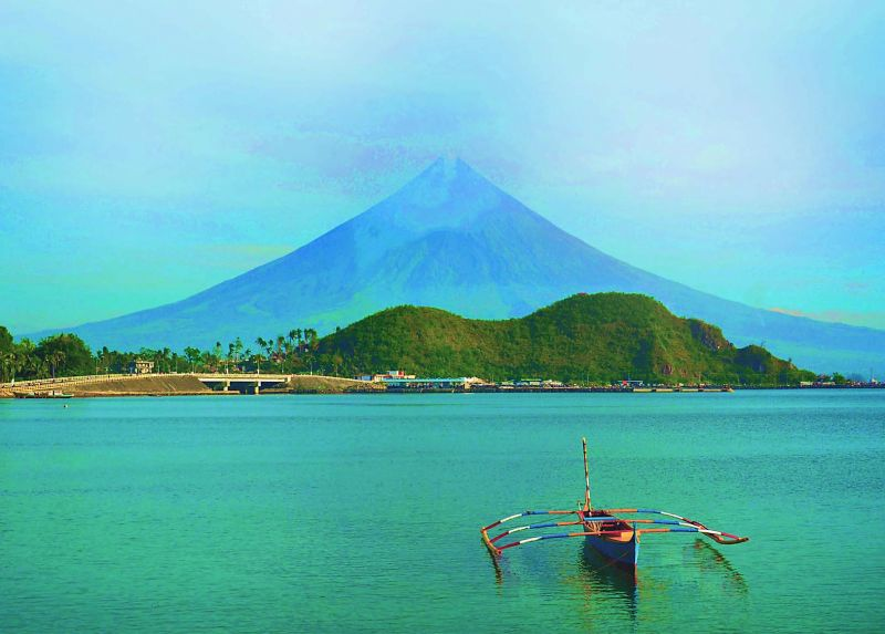 Mount Mayon's beauty and symmetry is unrivalled