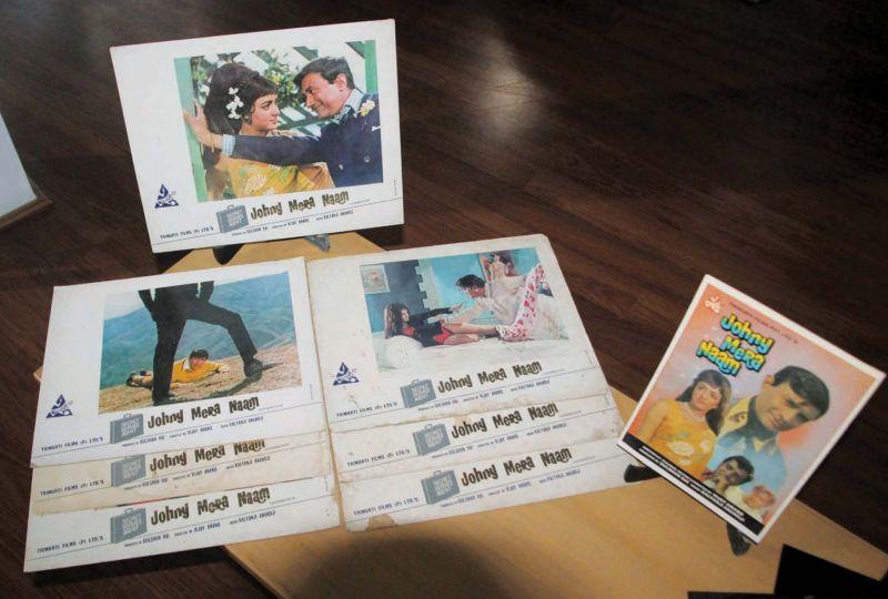 Distributor booklets Johny Mera Naam ( Photo: Mrugesh Bandiwadekar)