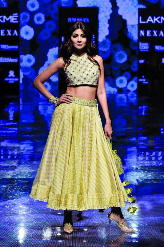 Shilpa Shetty was the showstopper for Punit Balana.