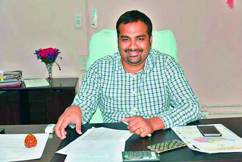 R.V. Karnan, IAS officer and District Collector of Mancherial