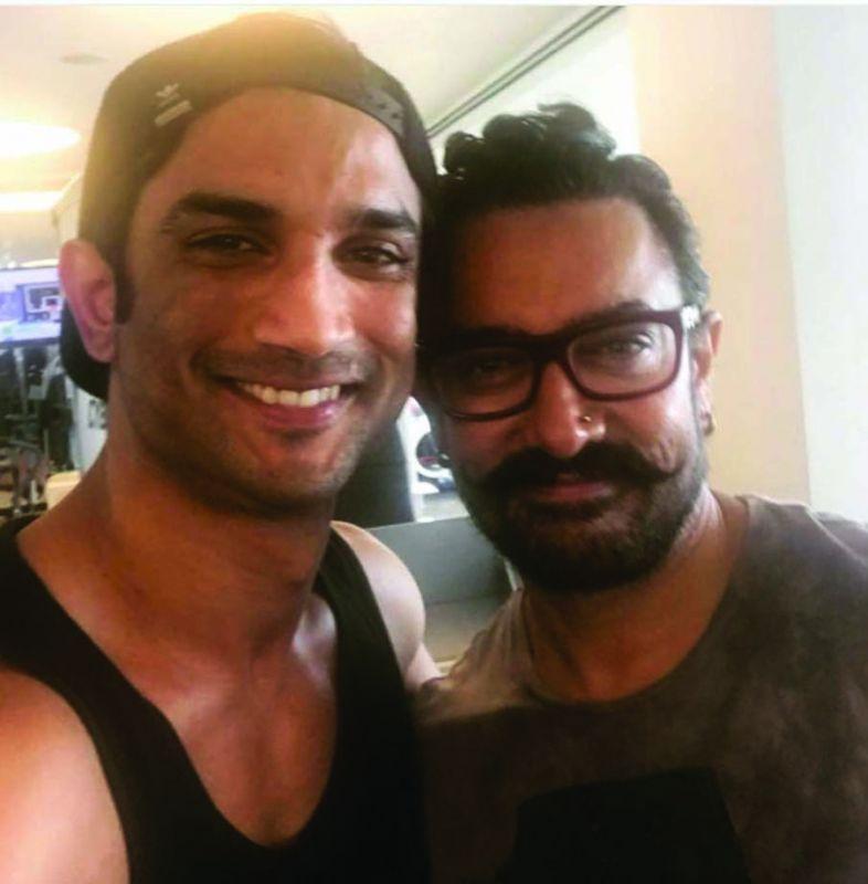 Aamir Khan sporting a nose stud