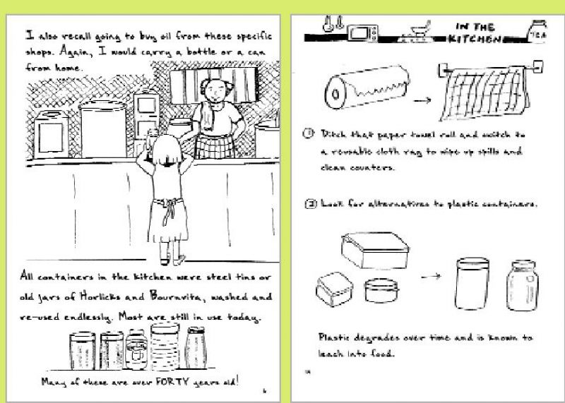 Some of the illustrations from the handbook