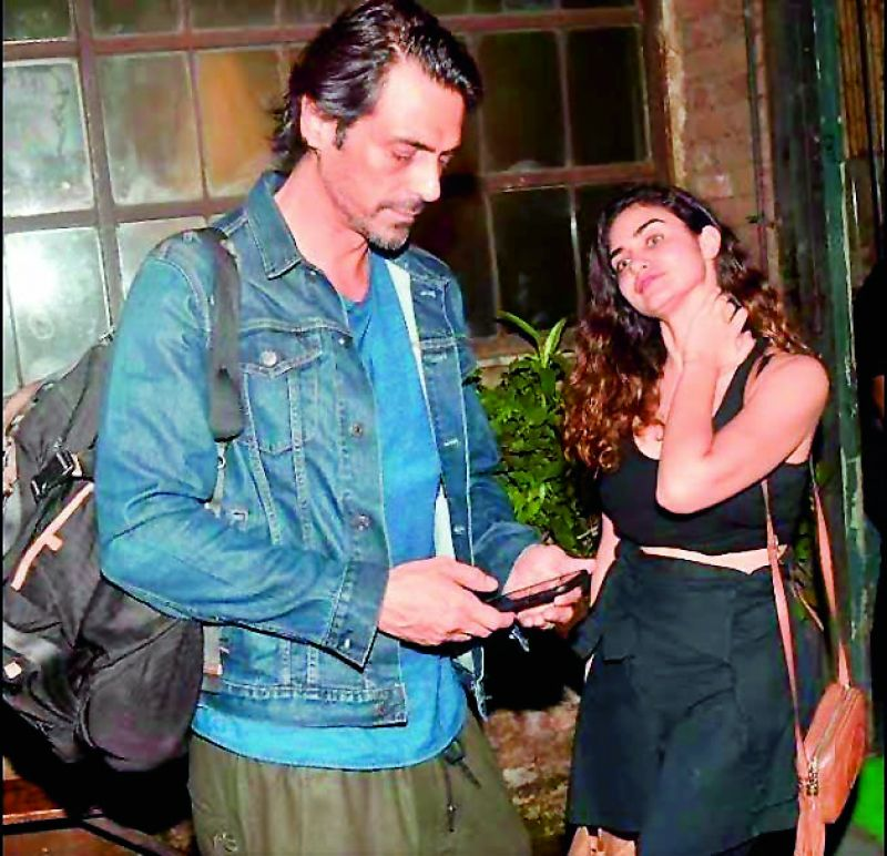Arjun Rampal with rumoured girlfriend Gabriella Demetriades