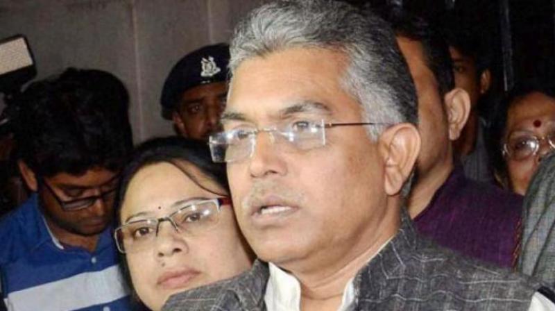 West Bengal BJP president Dilip Ghosh. (Photo: PTI)