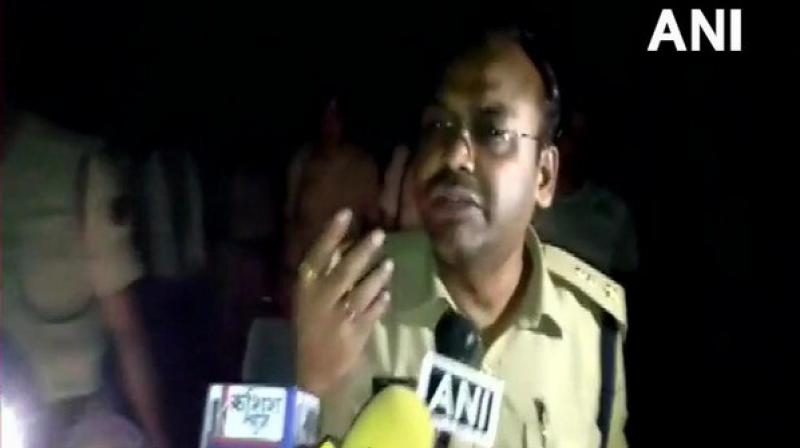 SP told ANI, 'There is bleeding from his eyes. Besides this, no injury is visible on the body. The cause of death will be known after the post-mortem. The investigation is underway.' (Photo: ANI)
