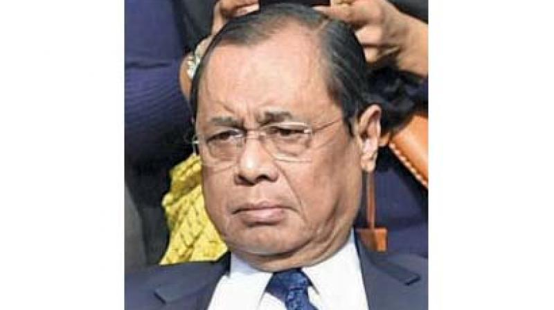 In April, a former employee of the apex court accused Chief Justice of India Ranjan Gogoi of sexual harassment and subsequent persecution after she resisted his alleged sexual advances. (Photo: File)