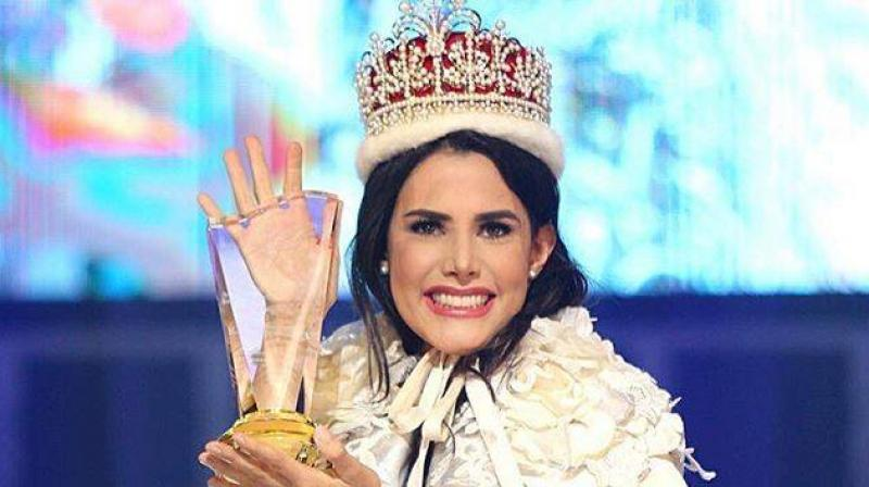 Velazco was earlier crowned Miss Venezuela International 2017. (Facebook Screengrab/ MariemClaretVelazco)