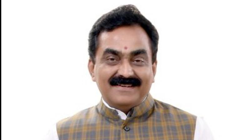 The Congress government has 'turned a deaf ear' to the problems being faced by cultivators and other people due to heavy rains and subsequent floods in parts of MP, state BJP Chief Rakesh Singh alleged. (Photo: Twitter)